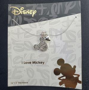 I ❤ MICKEY Necklace